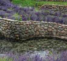 Scene From The Lavender Field Sticker