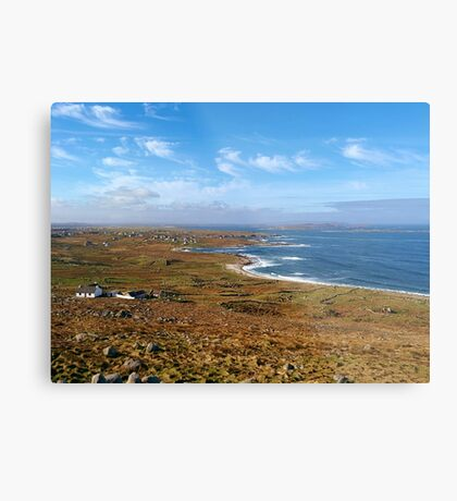 Donegal, Ireland Coast Metal Print