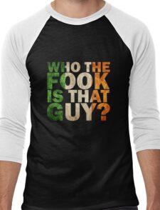 mcgregor ; who the fock is that guy? Men's Baseball ¾ T-Shirt