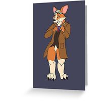 Trust me, I'm the Corgi Greeting Card