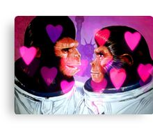 Planet Of The Love Apes Canvas Print