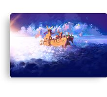 Archives of Wyndia - Newtown Painting Canvas Print