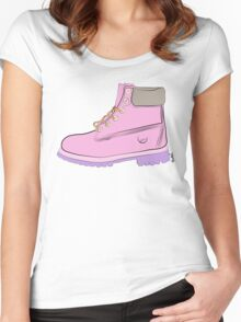 Timberland Boots Women's Fitted Scoop T-Shirt