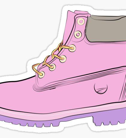 Timberland Boots Sticker