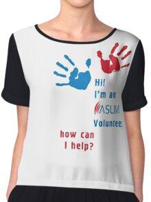 ASUM Volunteer-3 Chiffon Top