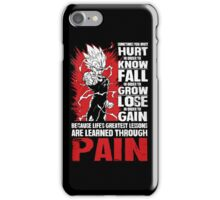 Vegeta Shirt iPhone Case/Skin
