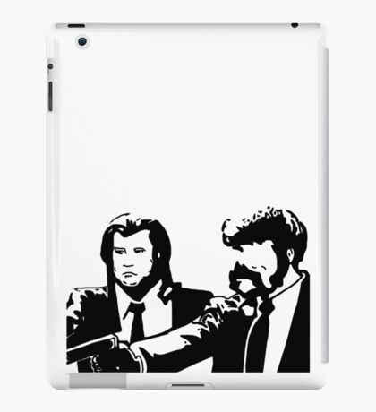 Pulp fiction Vincent Vega Jules Winnfield iPad Case/Skin
