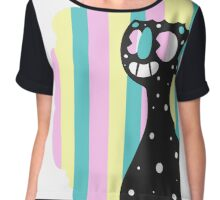 Rainbow Smile Chiffon Top