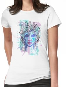 Retro Girl Womens Fitted T-Shirt