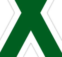 Liver Cancer Awareness ribbon Sticker