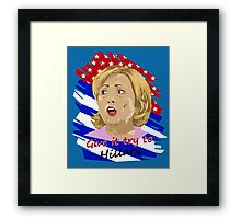 Election - Hillary Framed Print