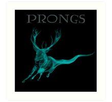 Prongs Patronus - Harry Potter Art Print