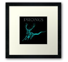 Prongs Patronus - Harry Potter Framed Print