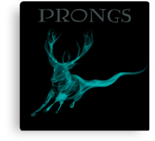 Prongs Patronus - Harry Potter Canvas Print