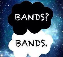 Bands? Bands. by MyPotatoRomance