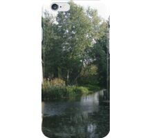The Hay Wain minus horse and cart iPhone Case/Skin