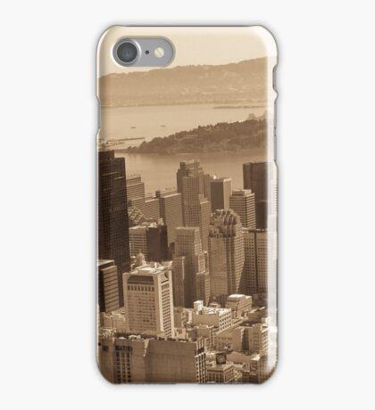 Vintage Aerial SF iPhone Case/Skin
