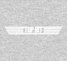 Top BIt - White Text T-Shirt