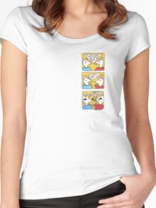 Existential Rats! Women's Fitted Scoop T-Shirt