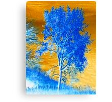 X-SCAPES (Hill Side) Canvas Print