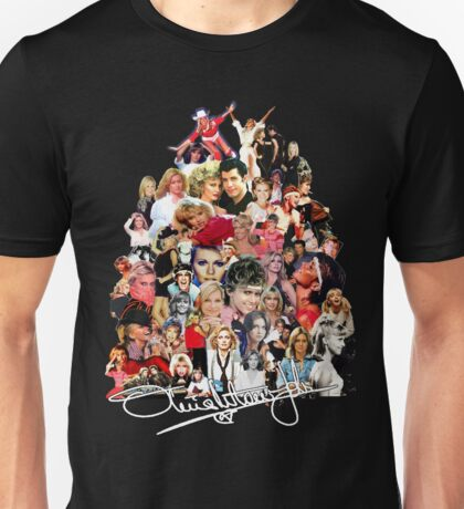 Olivia Newton-John  - Evolution Unisex T-Shirt