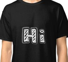 "Hand-drawn word ""Hi!"" Classic T-Shirt"