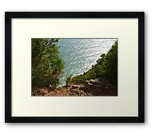 Ligurian sea Framed Print