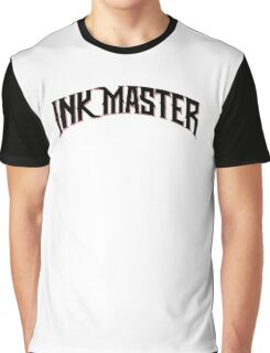 Ink Master logo - black- Spike - tv show - tattoo Graphic T-Shirt