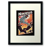 Ninjesus Framed Print