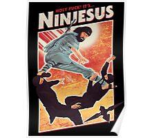 Ninjesus Poster