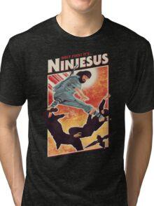 Ninjesus Tri-blend T-Shirt