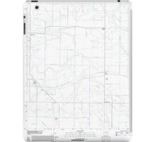 USGS TOPO Map Arkansas AR Moro 20110718 TM iPad Case/Skin