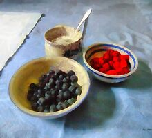 Breakfast in Red, White and Blue by RC deWinter