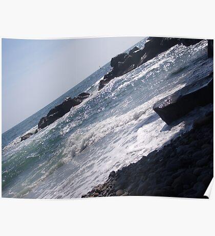 Ligurian sea #4 Poster
