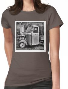 "Italian Vespa ""truck"" Womens Fitted T-Shirt"