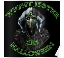 Halloween 2016 Wight Jester Poster