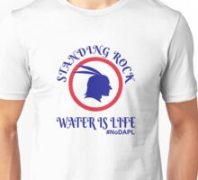 Standing Rock Water is Life Unisex T-Shirt