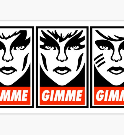 Gimme Misfits Sticker
