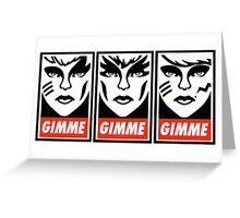 Gimme Misfits Greeting Card