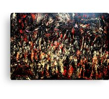 ABSTRACT ARMY OF DARKNESS Canvas Print