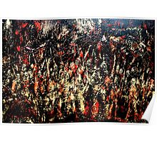 ABSTRACT ARMY OF DARKNESS Poster