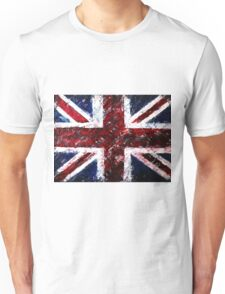 ABSTRACT UNION JACK Unisex T-Shirt