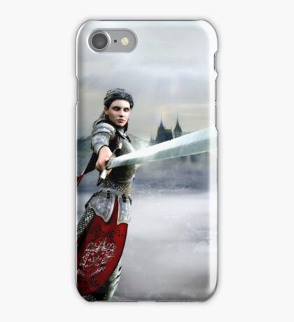 Soldier Of The God iPhone Case/Skin