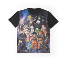 ANIME HEROES Graphic T-Shirt