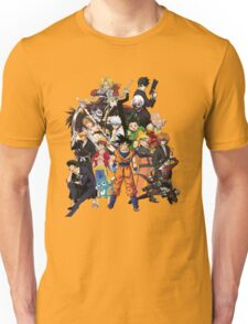 ANIME HEROES Unisex T-Shirt