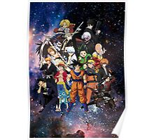 ANIME HEROES Poster