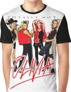 Olivia Newton-John Totally Hot Gallery Graphic T-Shirt