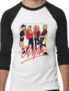 Olivia Newton-John Totally Hot Gallery Men's Baseball ¾ T-Shirt