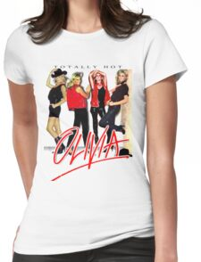 Olivia Newton-John Totally Hot Gallery Womens Fitted T-Shirt