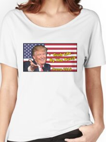 Trump, Grab Life by The Pussy. Women's Relaxed Fit T-Shirt